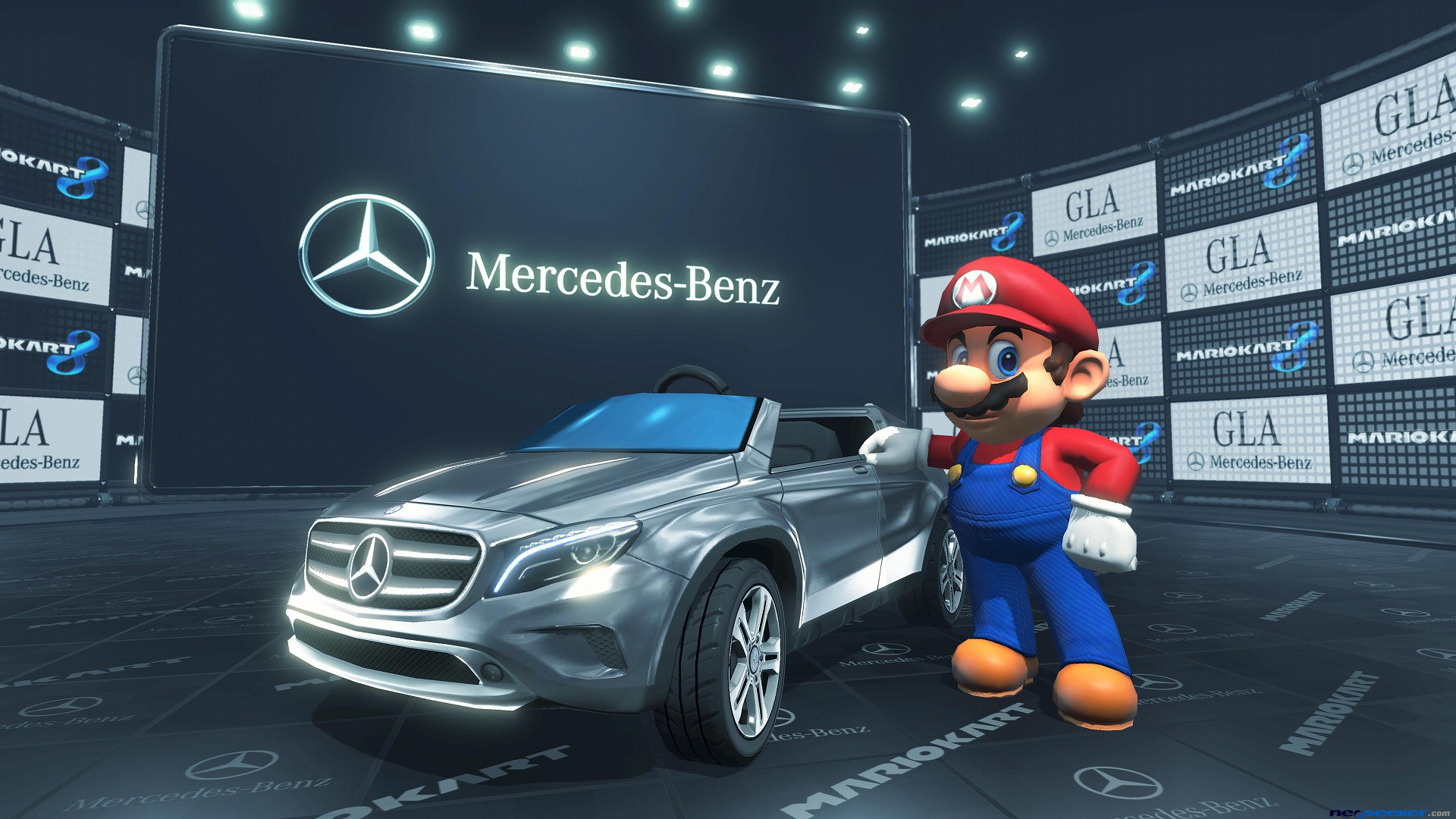 Mario Kart 8 updates this month with Mercedes-Benz DLC