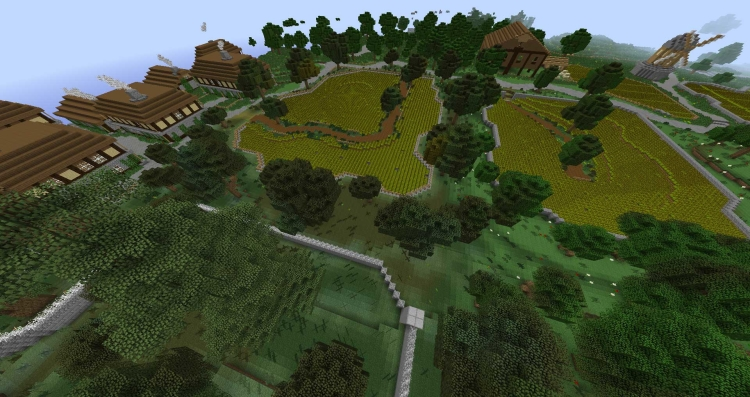 The whole of Runescape inside Minecraft!