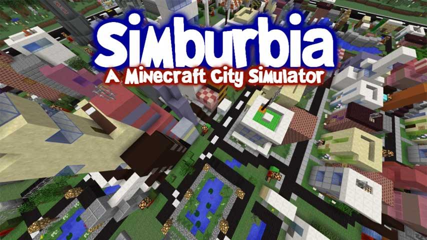 Simburbia is SimCity inside Minecraft