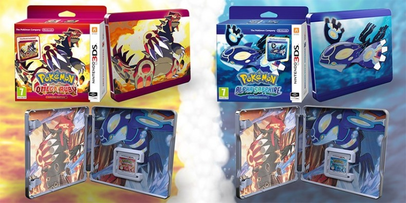 You can get Pokémon in an awesome steel case
