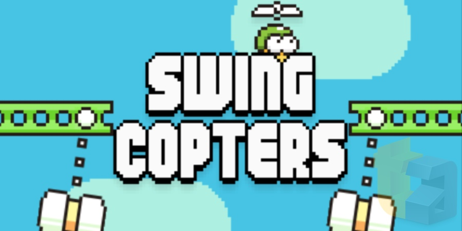 Flappy Bird gets a sequel in Swing Copters