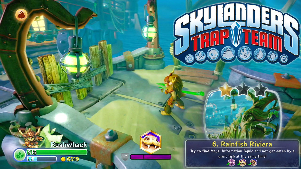 Let's Play a whole Skylanders Trap Team level
