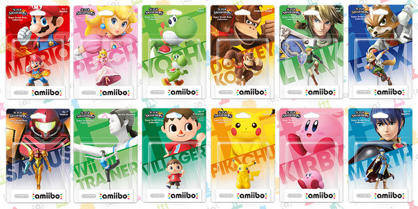 Nintendo Amiibo figures get priced