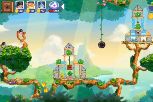 Angry Birds Stella gameplay
