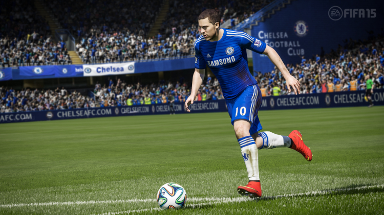 Let's play the FIFA 15 demo