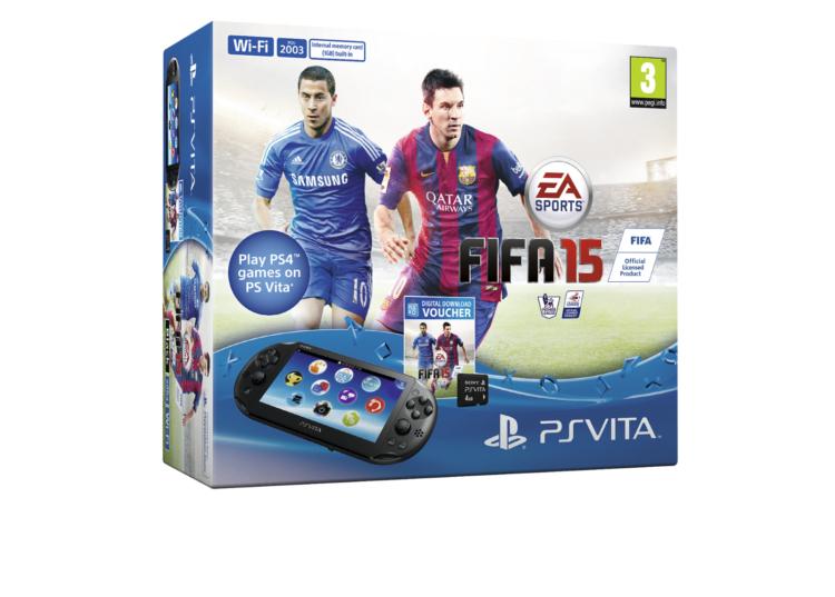 FIFA 15 PS Vita bundle is heading to Europe
