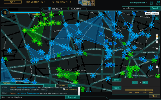 iOS App of the Day: Ingress