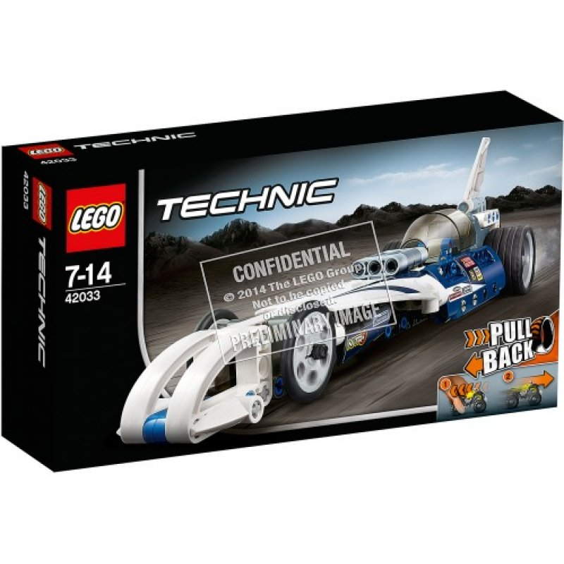 LEGO technic 2015 pull back car