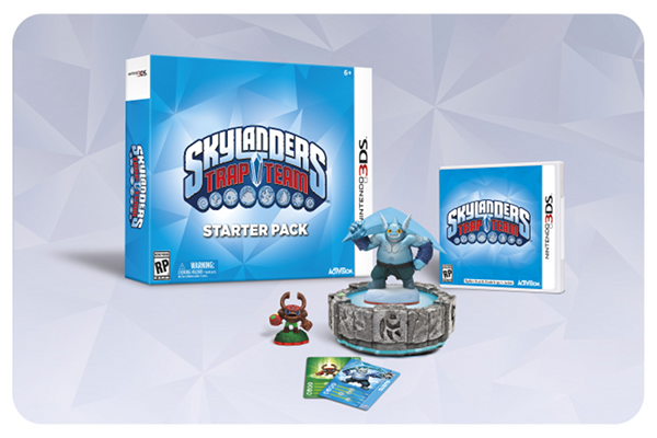 Skylanders Trap Team coming to 3DS, too.