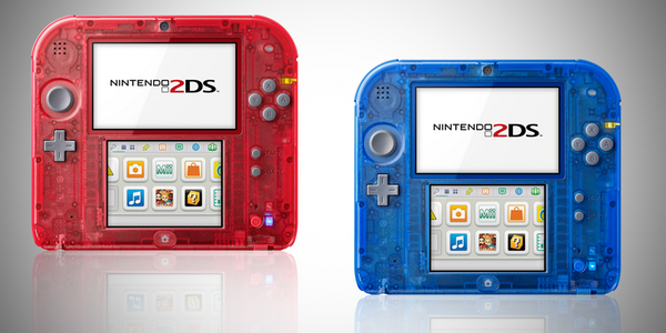 Two new 2DS consoles to celebrate new Pokemon games