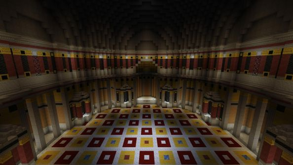 The British Museum will be built in Minecraft