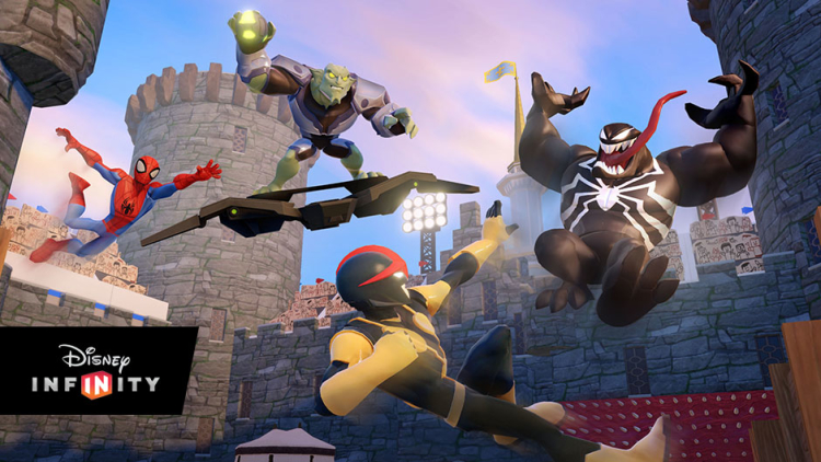 Meet the Disney Infinity 2.0 Spider-Man characters