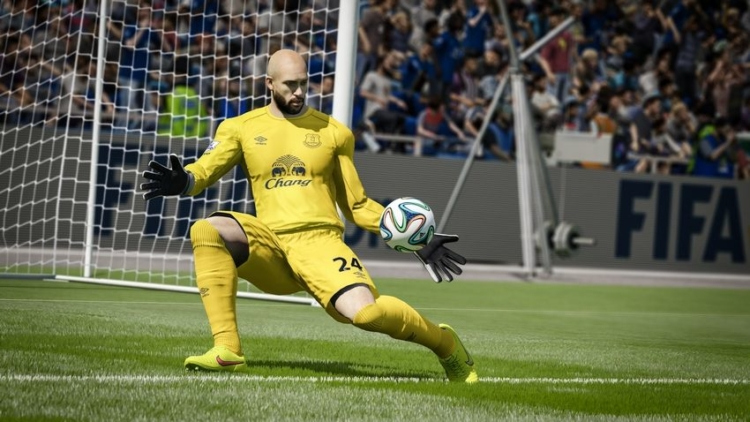 Realistic goalies are coming to FIFA 15