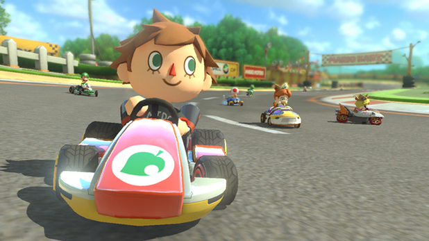 Mario Kart 8 DLC will add Zelda, Animal Crossing, and F-ZERO items