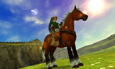Link can ride Epona in upcoming Hyrule Warriors DLC