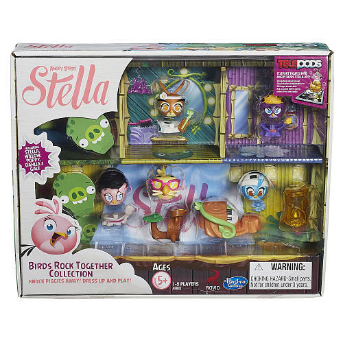 """Unboxing Angry Birds Stella """"Birds Rock Together"""""""
