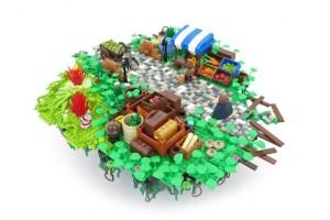 Bastion LEGO 04