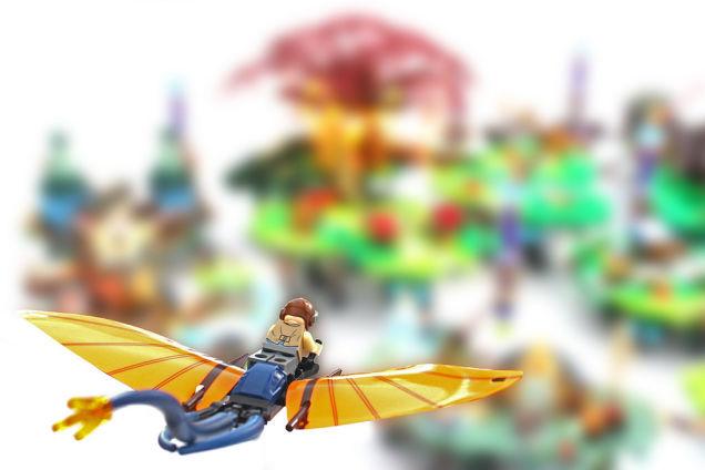 LEGO world inspired by Bastion!
