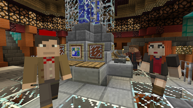 Doctor Who lands in Minecraft this Friday