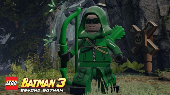 LEGO Batman 3 gets Arrow DLC