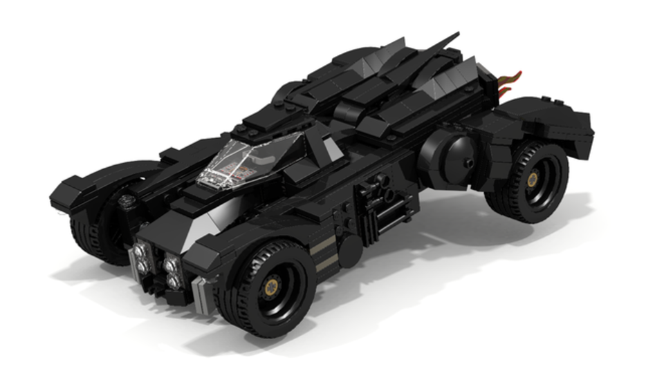 Awesome Batmobile pulls up at LEGO Ideas