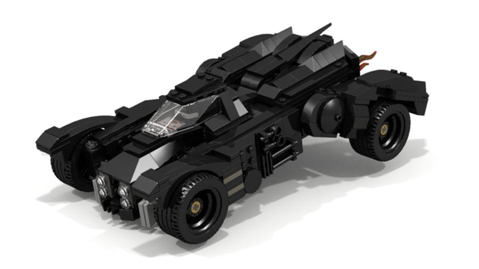 Awesome Batmobile Pulls Up At LEGO Ideas BoxMash - Brand new batmobile revealed awesome