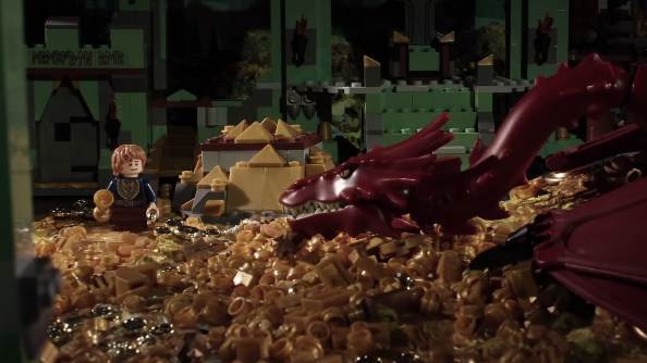 The Hobbit in 72 seconds, made of LEGO!