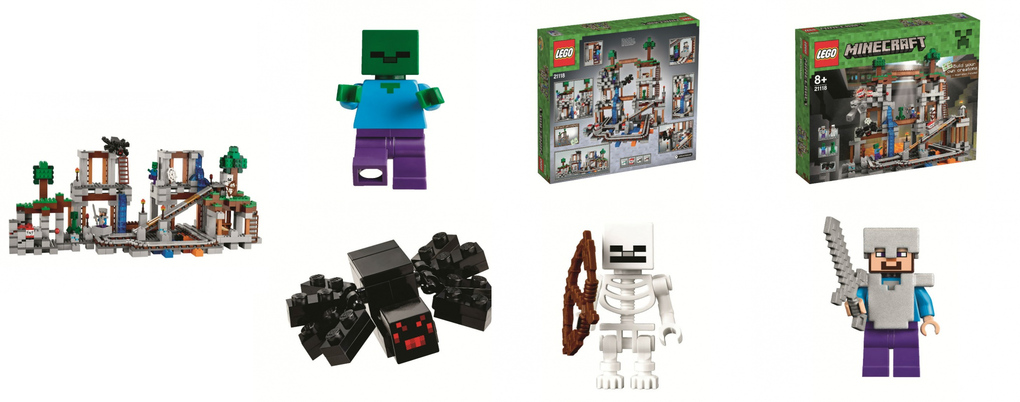 The Mine LEGO Minecraft set