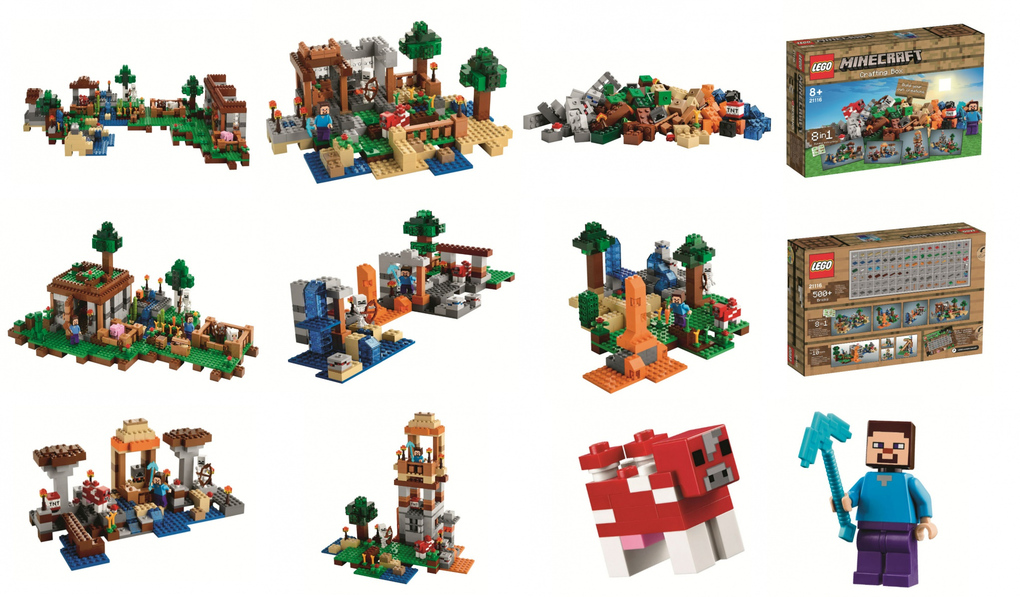 The Workbench LEGO Minecraft set