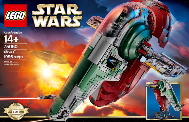 New LEGO Star Wars Slave I ship is incredible