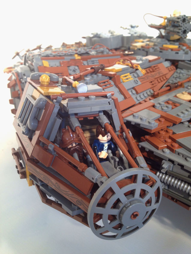 LEGO Steampunk Millenium Falcon 04