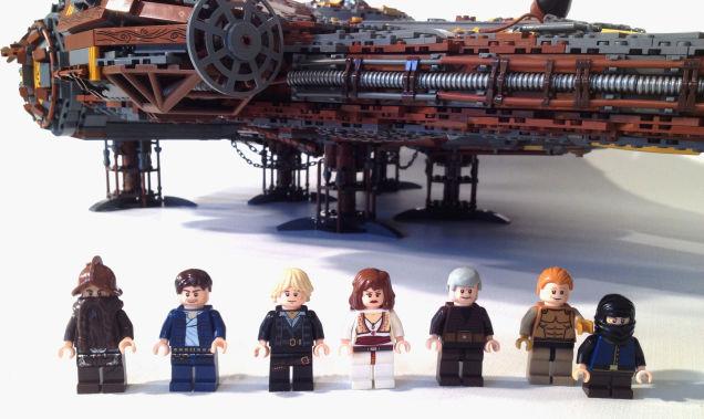 LEGO Steampunk Millenium Falcon 05