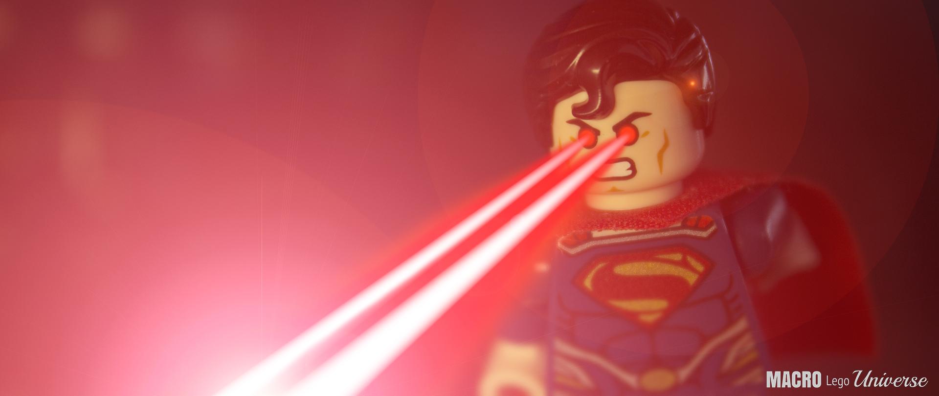 LEGO Superman Macro