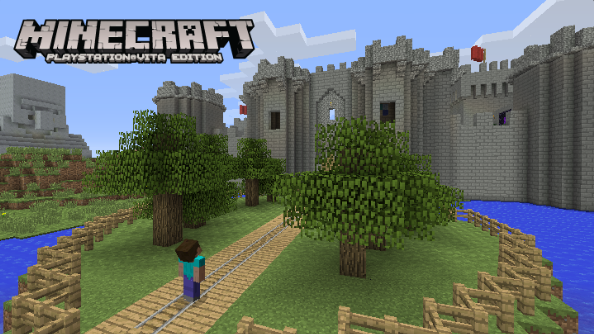 Minecraft on PS Vita will release next week