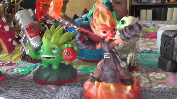 Unboxing Skylanders Trap Team