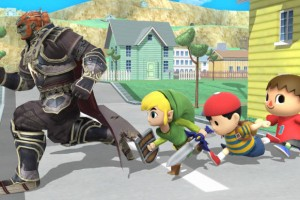 Super Smash Bros. Wii U screen