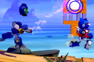 Transformers Angry Birds team up