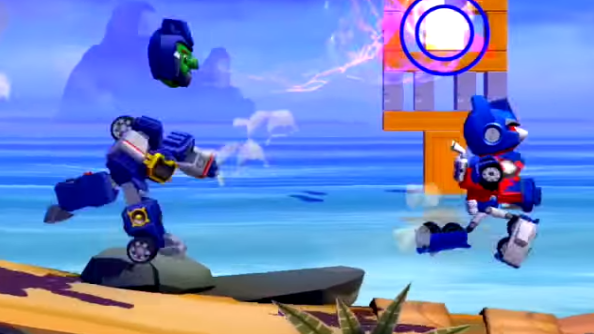 Team Up in Angry Birds Transformers