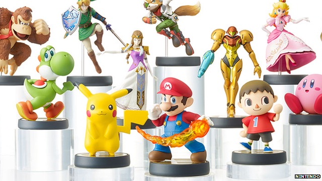Amiibo figures can only remember one game