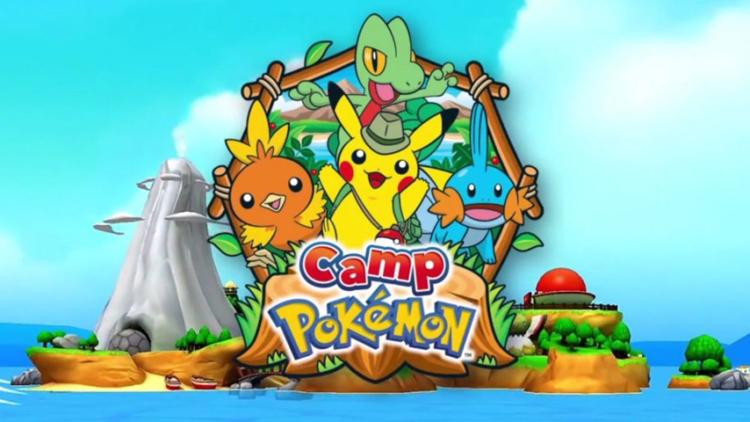 Camp Pokémon now on iOS