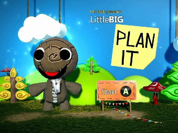 LittleBigPlanet recreated in Project Spark