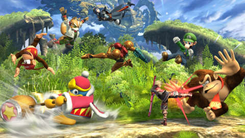 Super Smash Bros. Wii U will have 8 player battles