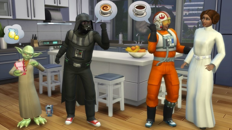 New Sims 4 update adds Star Wars costumes and ghosts