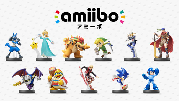 Even more Amiibo figures coming in 2015