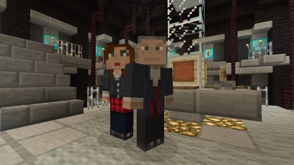 Doctor Who Minecraft Clara Twelfth