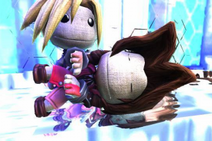 Final Fantasy VII Little Big Planet 2 remake