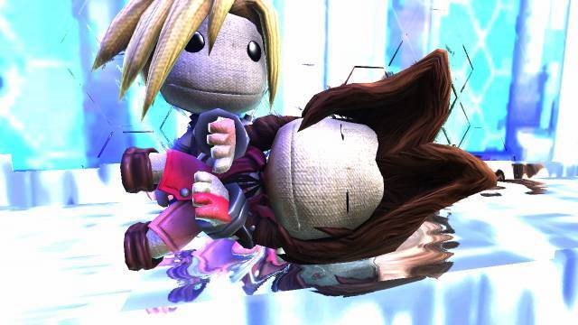 All of Final Fantasy VII made in LittleBigPlanet 2