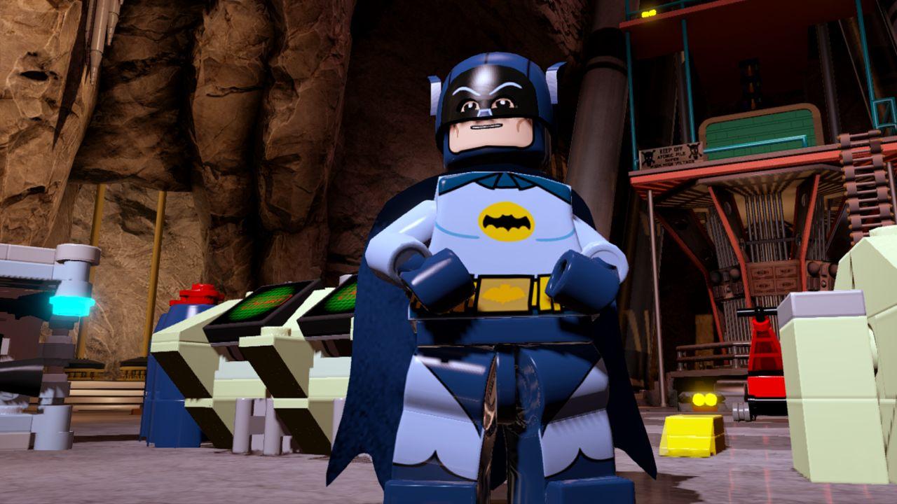 POW! It's 1960s LEGO Batman!
