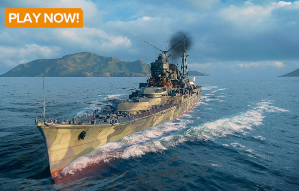 Play World of Warships for free