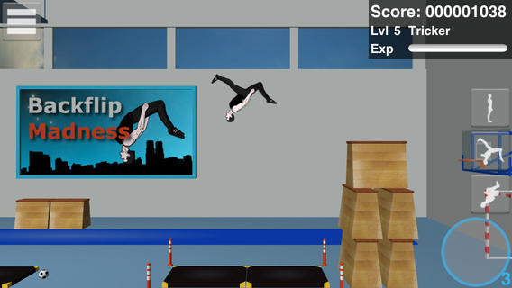 iOS App of the Day: Backflip Madness